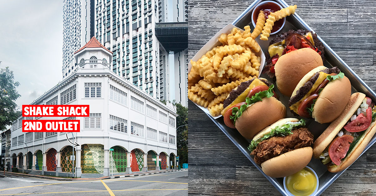 Shake Shack S'pore 2nd outlet in Tanjong Pagar will open in the first quarter of 2020