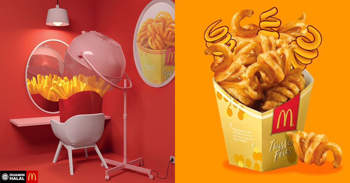 McDonald's Malaysia will be launching curly Twister Fries as early as this December