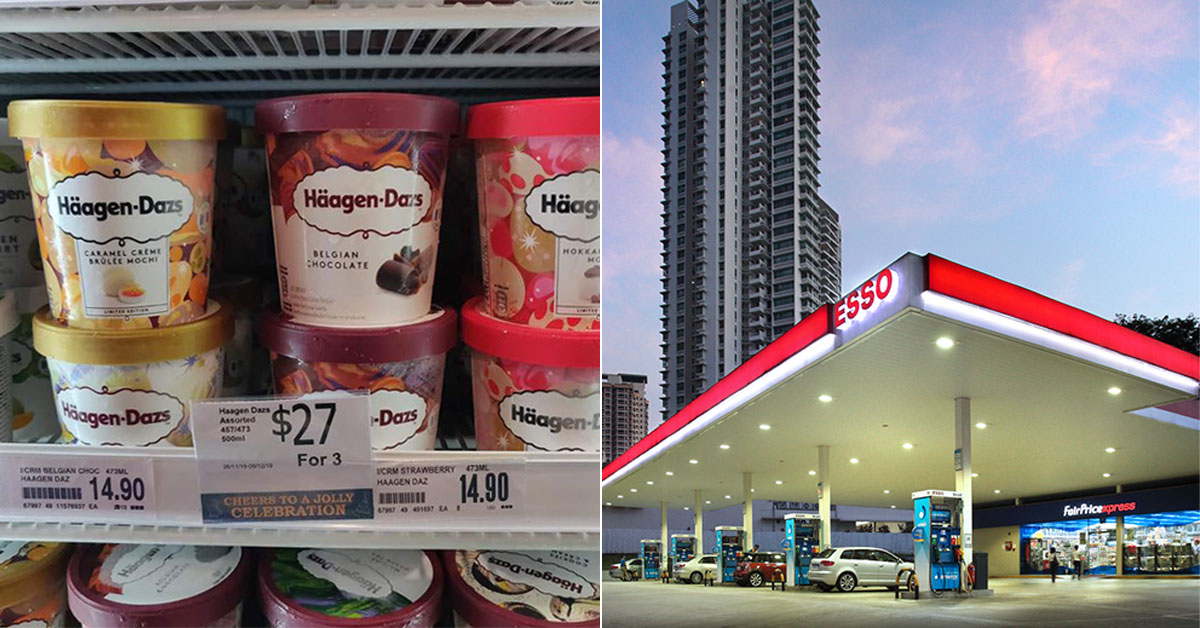Esso Petrol Stations selling 3 x Häagen-Dazs ice cream pints for only $27 till Dec 9