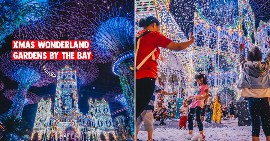 Christmas Wonderland at Gardens by the Bay happening till Dec 26 the perfect place to visit in this cool weather
