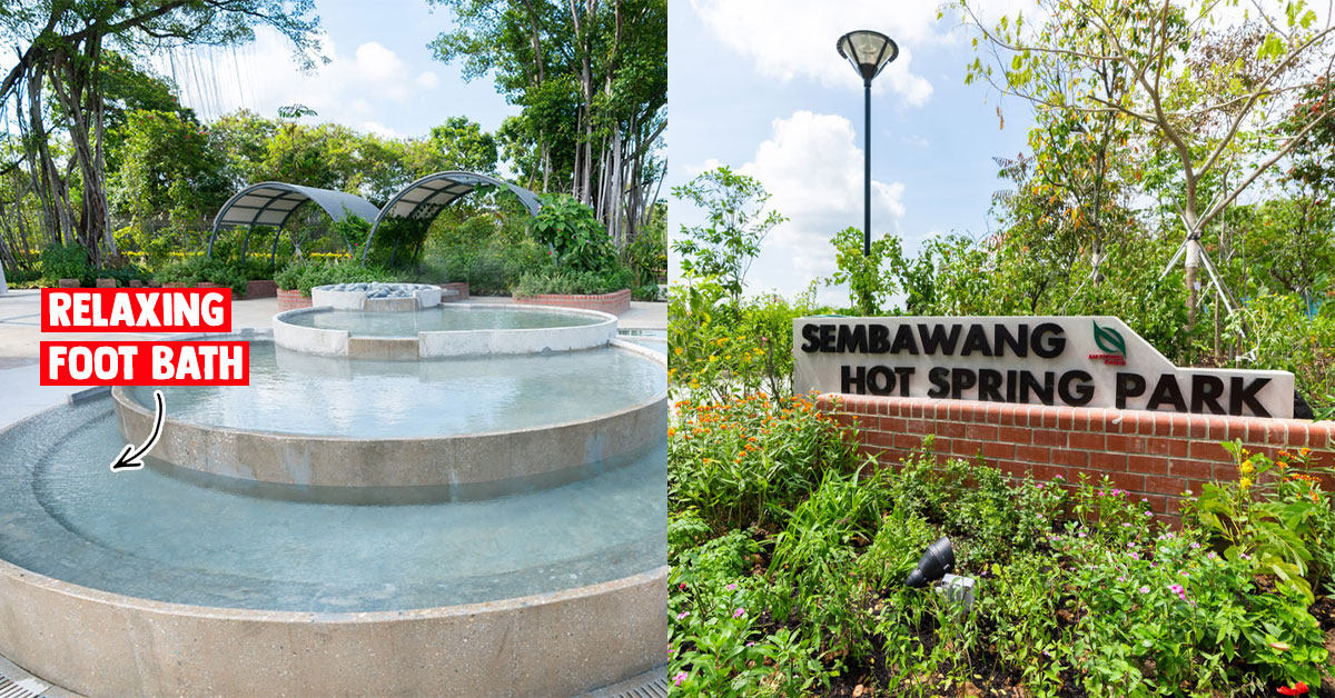Here's a first look at the newly revamped Sembawang Hot Spring Park which reopens today