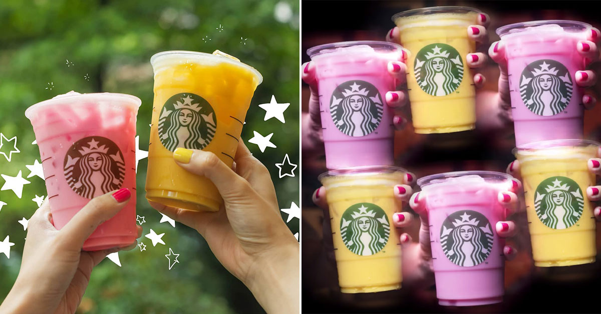 Starbucks S'pore teases Pink Drink & Yellow Drink coming to stores on Jan 13