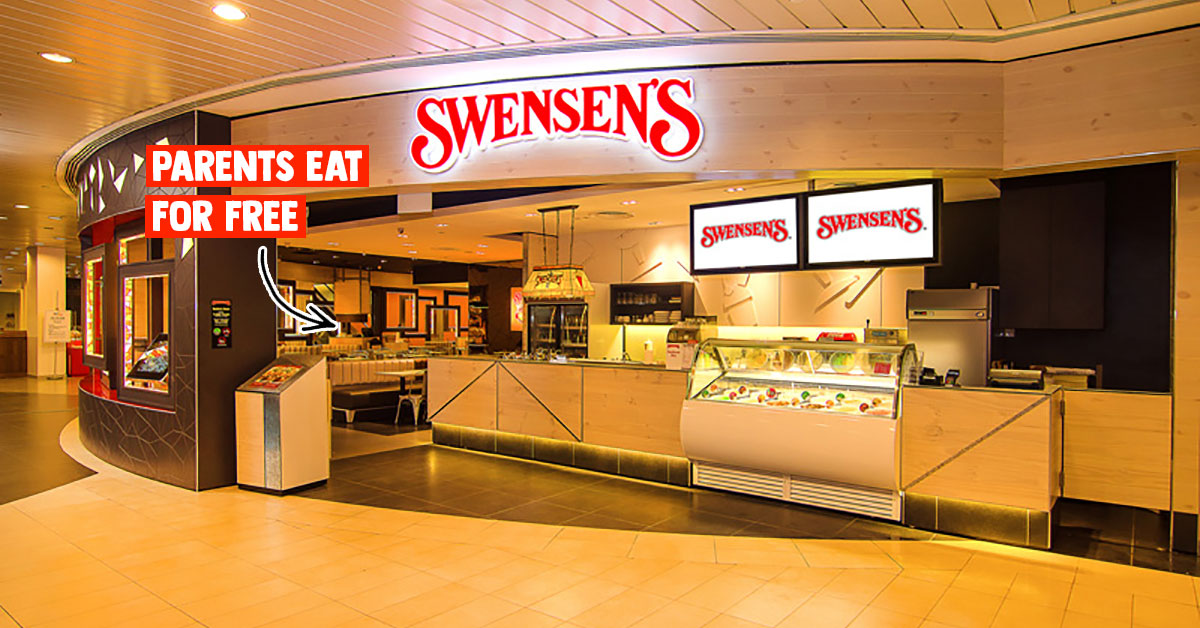 Parents dine free at all Swensen's S'pore outlets when you bring them from now till Feb 29