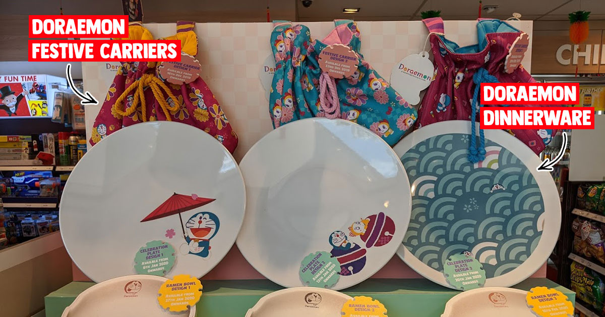 Shell Select has Doraemon-themed merchandise you can buy with min. $10 spending this CNY