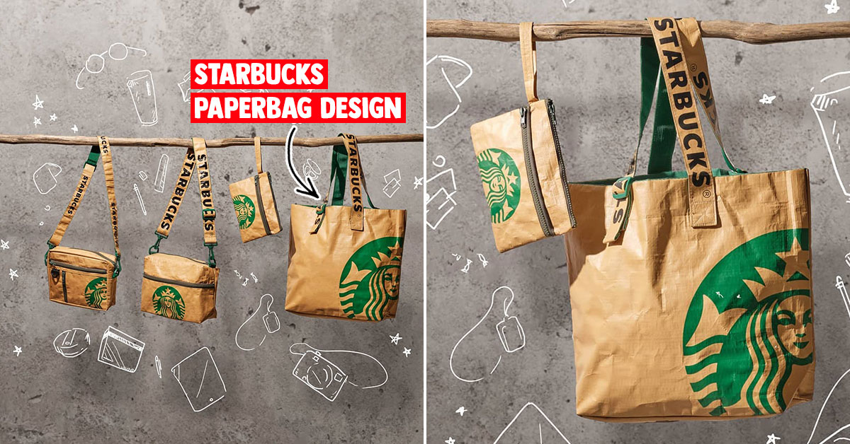 Starbucks S'pore new Bag Collection based on classic takeaway paperbag design goes on sale from Jan 13