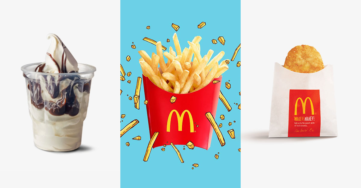 Here are 4 new McDelivery Coupon Codes you can use till Jan 19 for free Large Fries, Sundae, Hashbrown & more