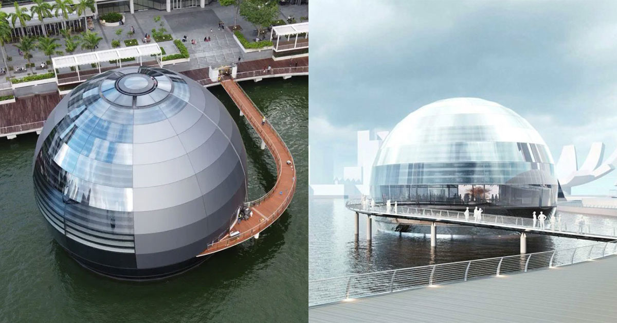 Floating Orb in Marina Bay Sands could be Apple's latest flagship store in S'pore set to open this year