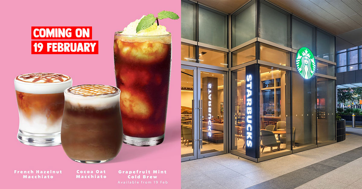Starbucks S'pore new drinks coming this week include two Macchiatos & Grapefruit Mint Cold Brew