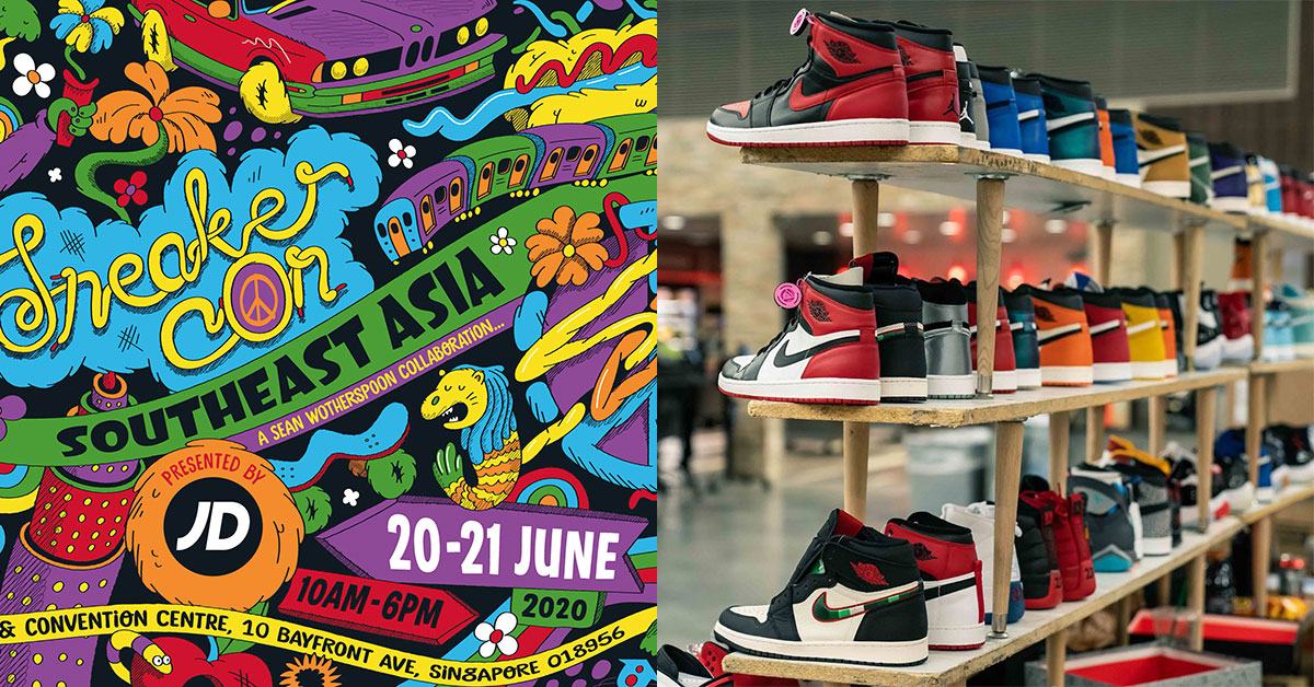 S'pore to host the first ever Sneaker Con in Southeast Asia at Marina Bay Sands Expo on June 20 & 21