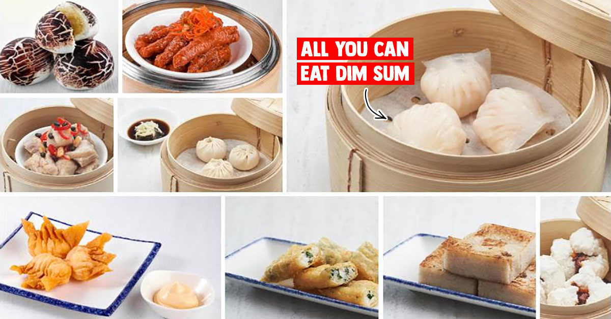 Heritage Chinese restaurant in Jurong now offers Dim Sum Buffet from S$18.80 per person till Mar 31