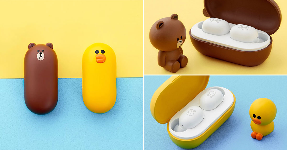 LINE Friends Xiaomi TWS Wireless Earbuds now available online in S'pore for S$39 each with free shipping