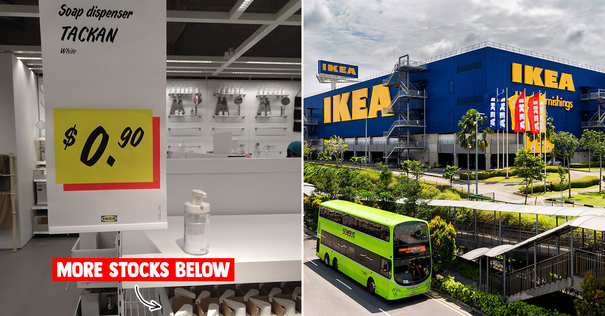 IKEA has $0.90 Soap Dispensers up for grabs, way cheaper than most general stores in S'pore