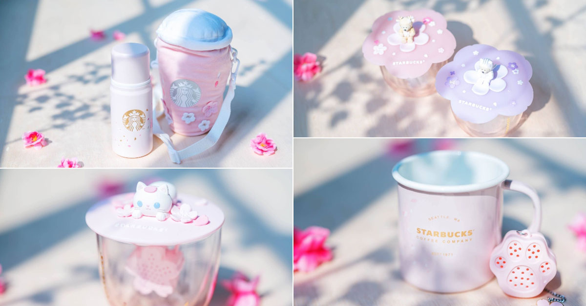 Starbucks S'pore to launch new Sakura-themed Bearista & Friends Collection from Mar 16