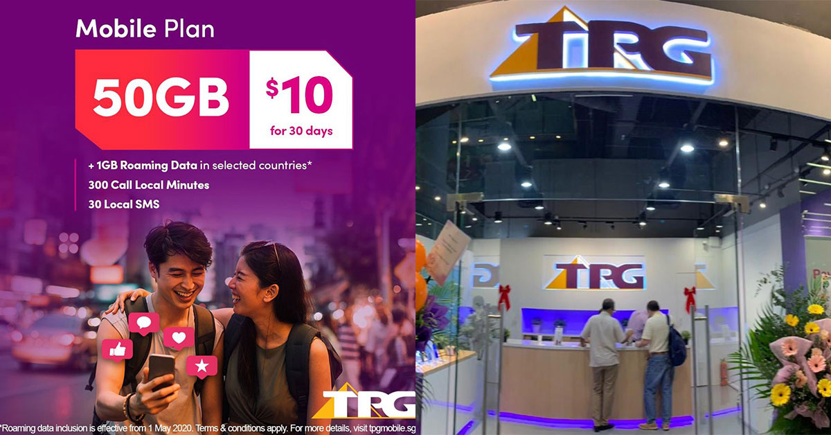 TPG Telecom now offers $10 contract-free plan with 50GB Data per month, even has 1GB Roaming Data included
