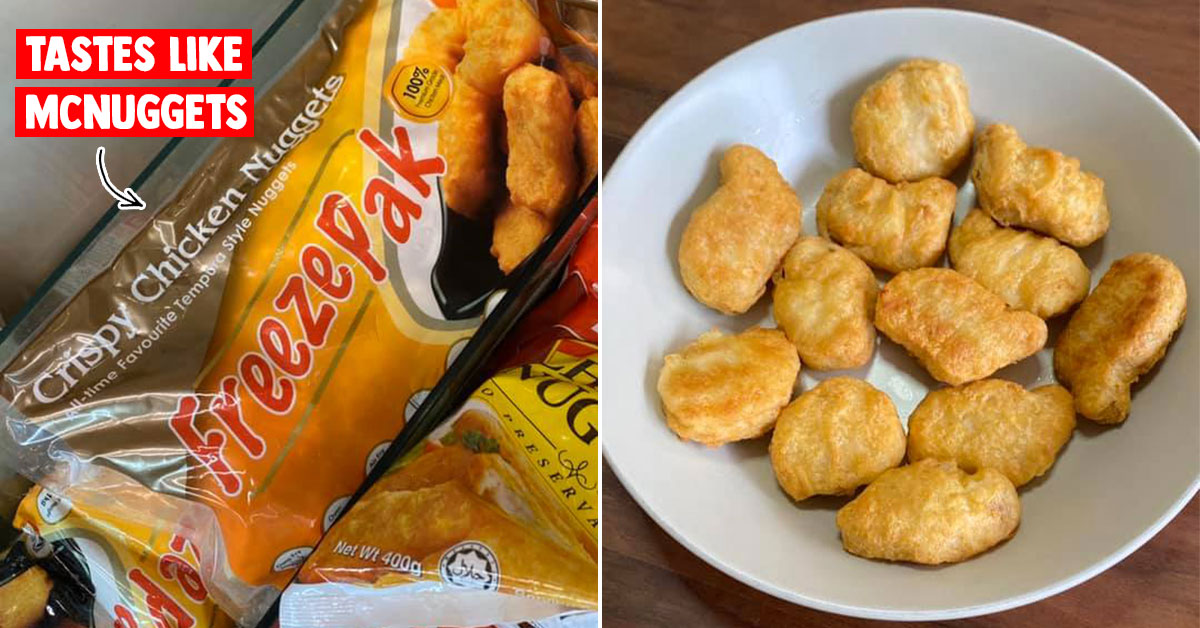 FreezePak Chicken Nuggets are selling out in supermarkets after netizen say it tastes 98% similar to McD's