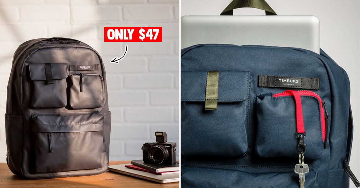 Timbuk2 Ramble Backpack available for S$47 is your new workbag when Circuit Breaker ends