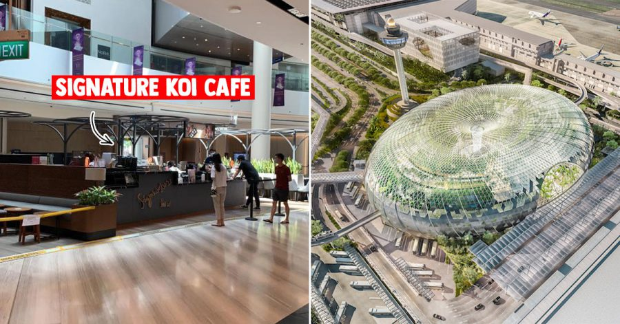 Signature KOI Cafe at Jewel Changi Airport reportedly open for business with queue spotted