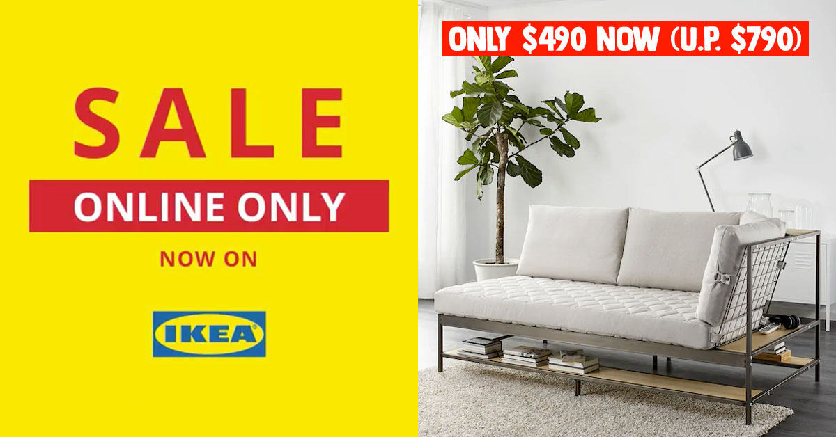 IKEA S'pore launches Online Sale from Jun 1, has over 500+ items up to 50% off for a limited time