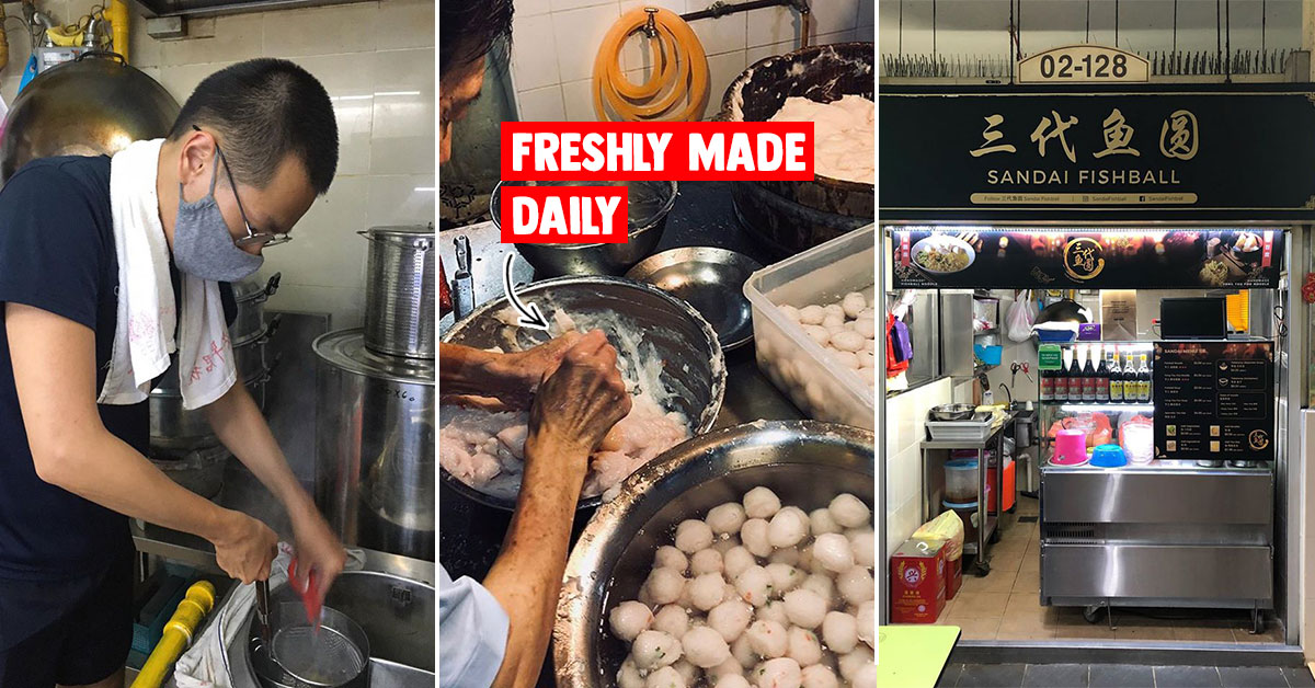 3rd-Gen Hawker in Amoy St Food Centre has Fishballs & YTF made from scratch daily reopens stall on Jun 2