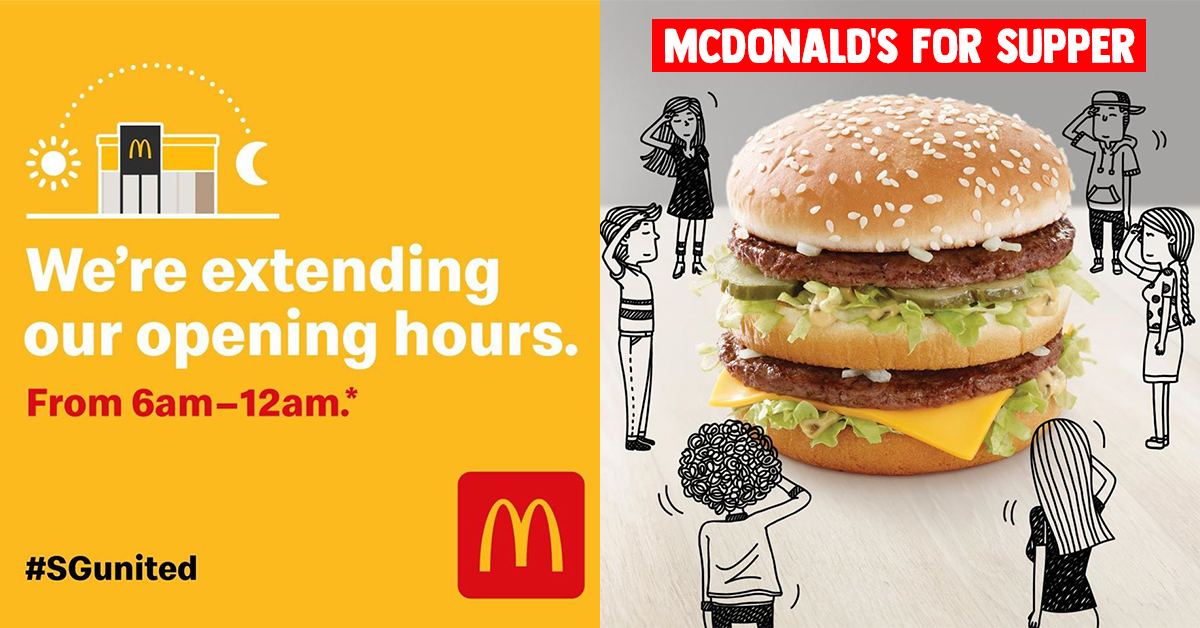 Opening Hours, What Time Does Mcdonald's Dining Room Open