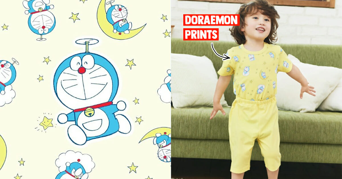 UNIQLO S'pore has new Doraemon-themed Baby & Toddler Pajamas Collection at $14.90 per set