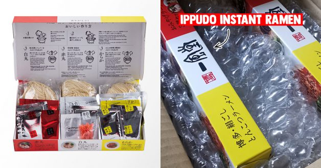 3-pack Japan-imported IPPUDO Instant Ramen selling at only S$28 for a limited time online