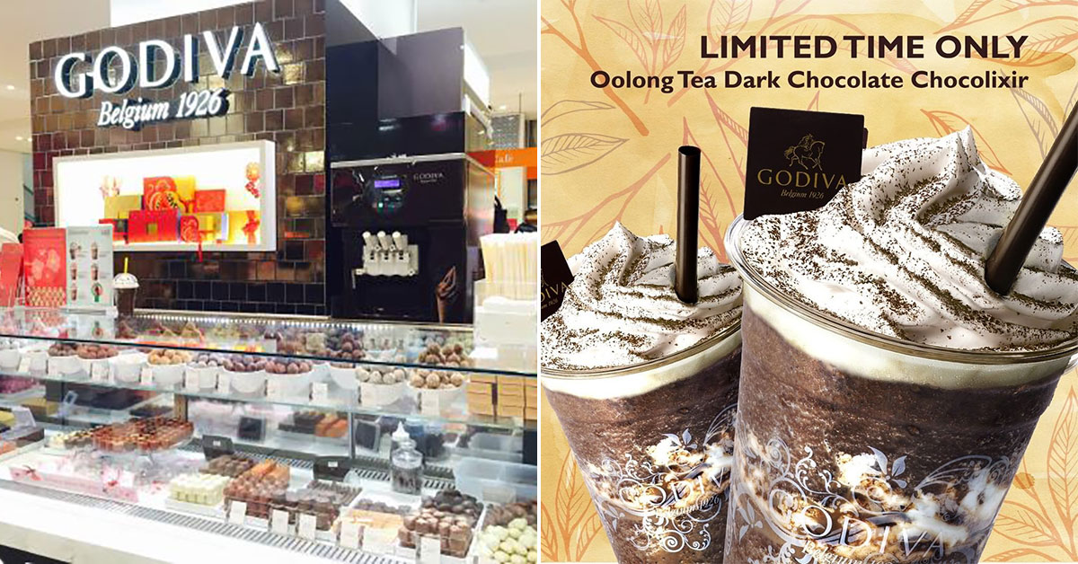 GODIVA launches new Oolong Tea Dark Chocolate Chocolixir to help bubble tea lovers cope with shop closures