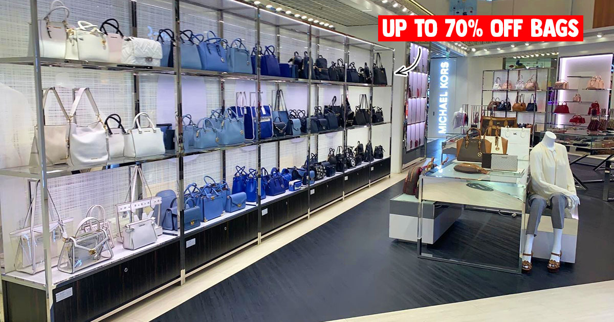 Michael Kors IMM Outlet will have up to 70% off bags & leather goods on Jul 9 – 12 long weekend