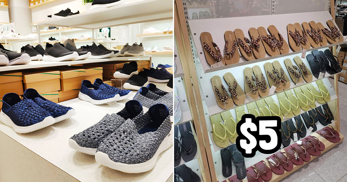 Footwear retailer Hotwind (热风) having a crazy sale with shoes storewide from $5 till Jul 15