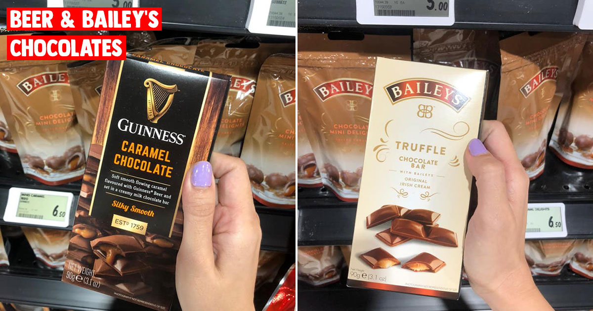 FairPrice Finest outlets selling Guinness Beer & Bailey's Chocolate Snacks from $5 per pack