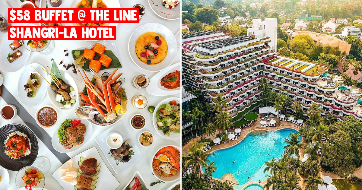 Shangri-La's The Line slashes lunch & dinner buffet prices to $58 per person till further notice