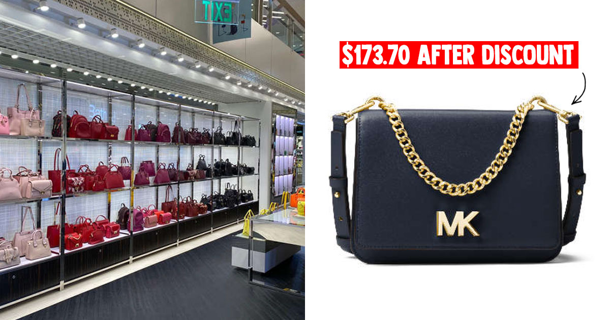 Michael Kors IMM Outlet now having Storewide Sale till Aug 2 with leather goods from $60