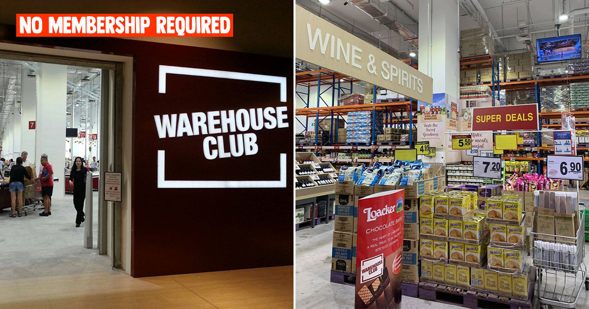 NTUC Warehouse Club now lets you shop without membership, has Open House with lots of offers till Sept 15