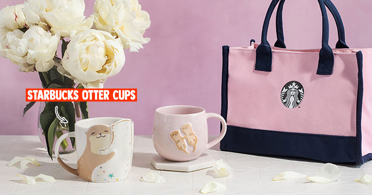 Starbucks Taiwan launches lovey-dovey Otter Mugs to celebrate Chinese Valentine's Day