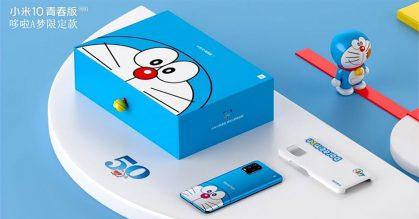 Xiaomi releasing a limited edition Doraemon-themed Mi 10 Youth 5G Smartphone in China from Aug 28