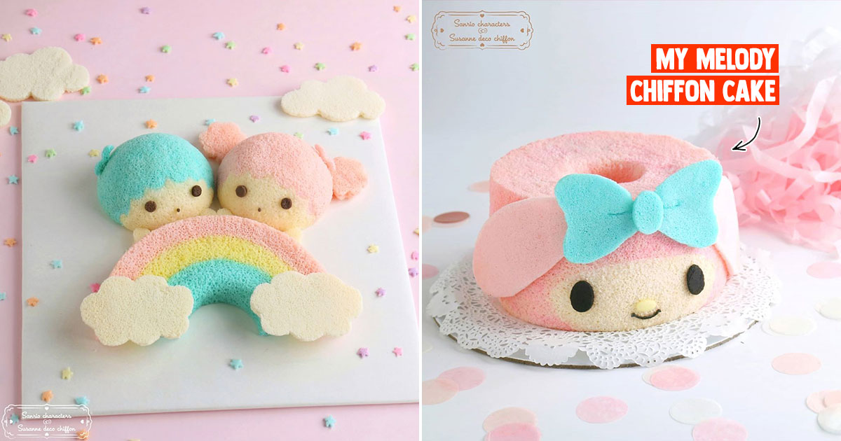 S'porean baker teams up with Sanrio to offer Baking Classes on Little Twin Stars & My Melody Cakes