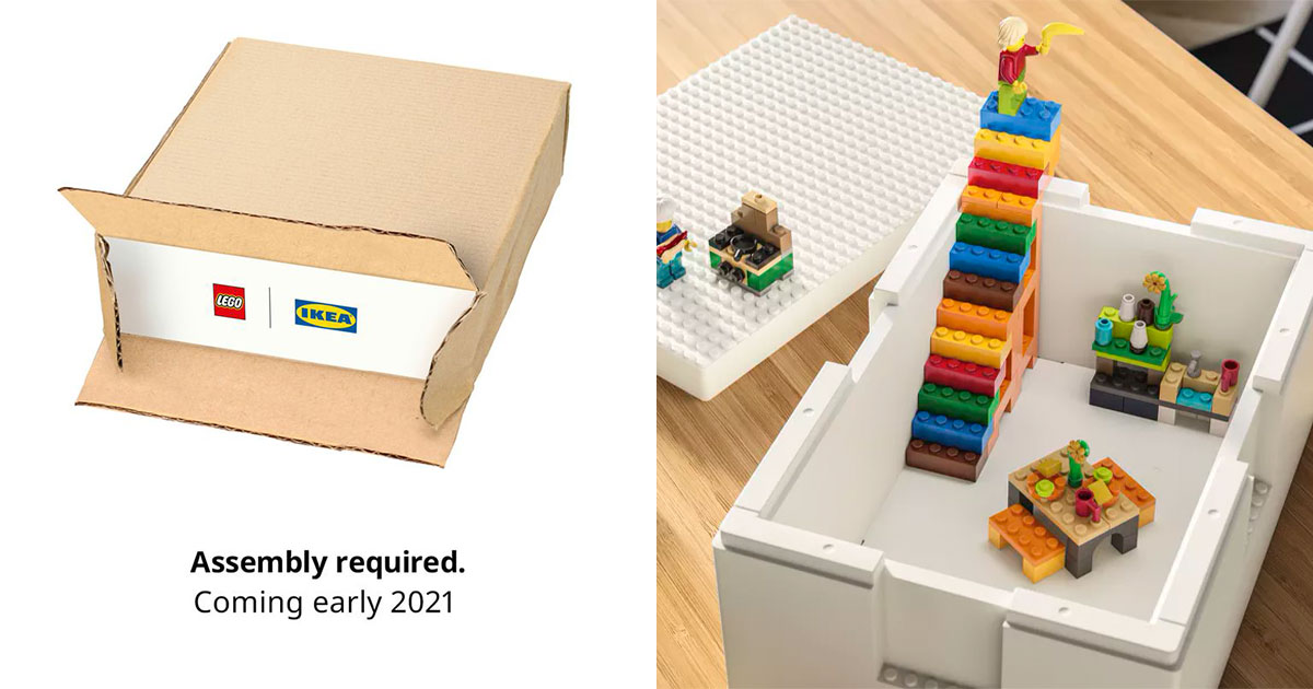 IKEA says LEGO Brick Storage Boxes are coming to S'pore, they double up as home decorations