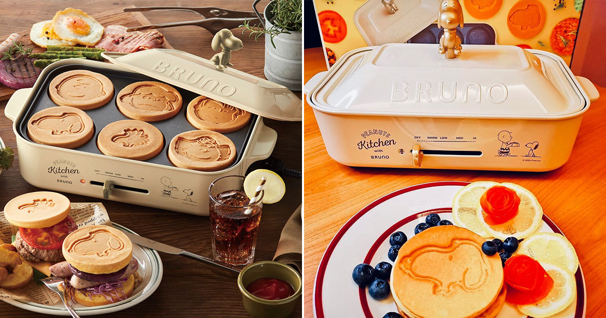 Snoopy x BRUNO Hotplate Machine are driving S'pore fans crazy, preorder now available at $248 per set