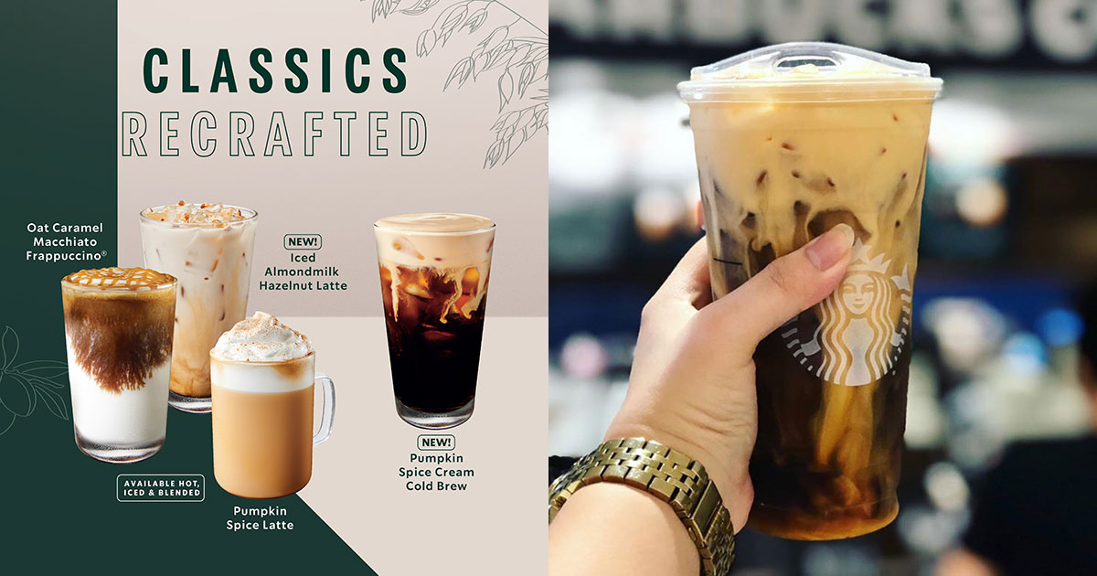 Starbucks to launch Pumpkin Spice Latte & new drinks from Sept 9, including a Pumpkin-flavoured Cold Brew