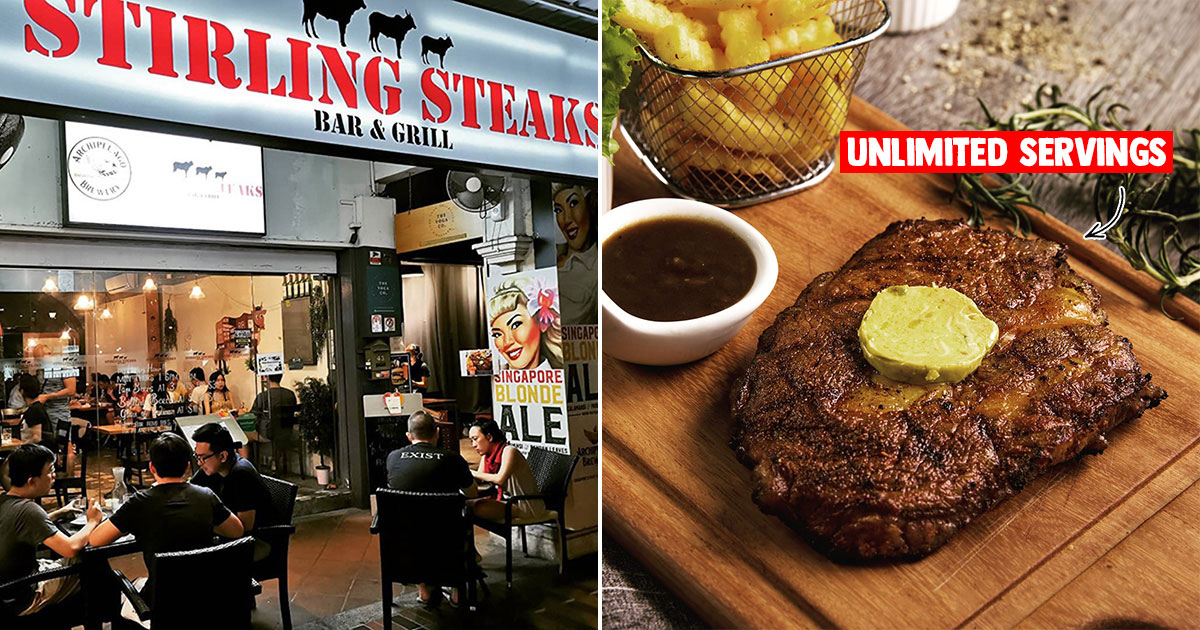 Steak place in Katong has all-you-can-eat Free Flow Steak Buffet for only $30 till Oct 31