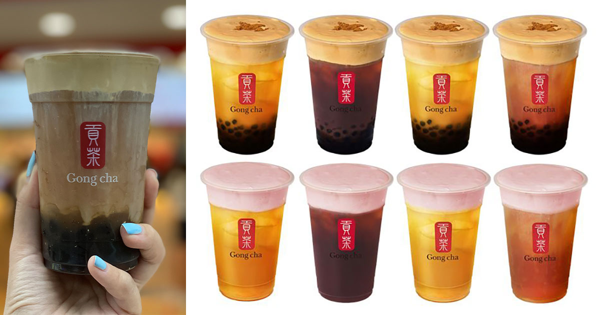 Gong Cha S'pore launches new Brown Sugar & Strawberry Milk Foam Toppings, prices from $3.40 per cup