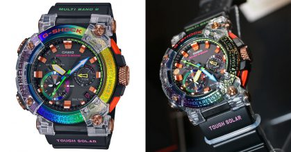 Casio's latest Rainbow G-SHOCK is inspired by the rare Borneo Rainbow Toad, launching in S'pore soon