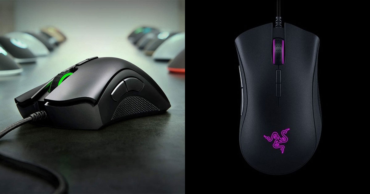 Razer DeathAdder Elite Gaming Mouse now selling at just S$34.90 online for a limited time