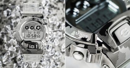 G-SHOCK S'pore dropping 'Skeleton Camouflage' Series with semi-transparent bands in stores from Oct 23