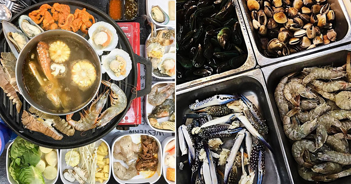 Halal Steamboat Place in Kaki Bukit has $25.90 Nett Price Buffet with Unlimited Seafood & Meat from Oct 30