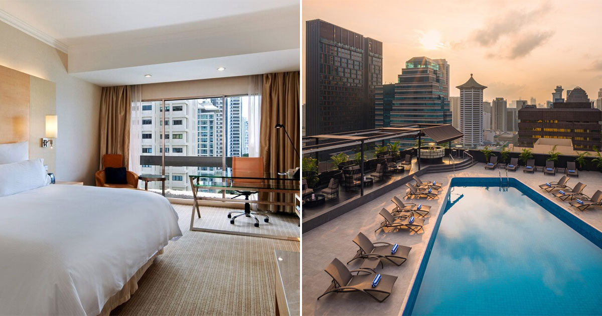 Hilton S'pore has Staycation Deals for 2 from S$265 with Steak Dinner & Free-Flow Wine till end-Jan 2021