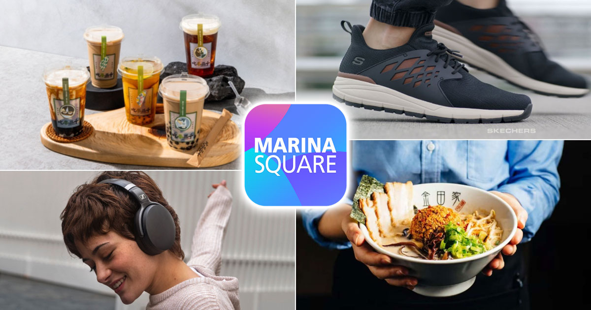 Get up to $15 Black Friday Flash eVouchers & 40% OFF eDeals on Marina Square App from Nov 24 – 29