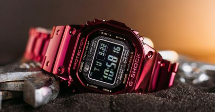 G-SHOCK S'pore to launch Full Metal GMW-B5000 with Red Ion Plating because Chinese New Year