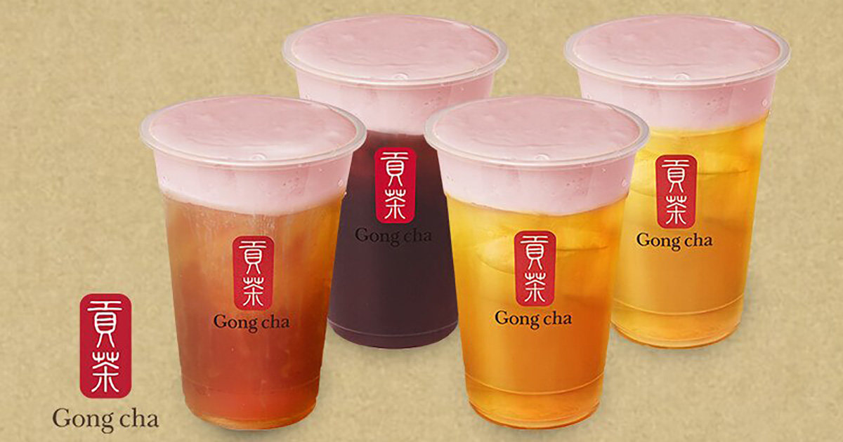 This 1-FOR-1 Gong Cha Deal till Jan 15 lets you redeem Strawberry Milk Foam Drinks for only S$1.75 per cup
