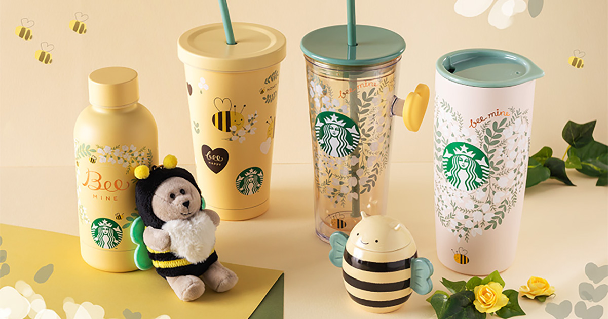 Starbucks to launch Valentine's Day Collection from Jan 18, has bee-themed mugs & tumblers up for grabs